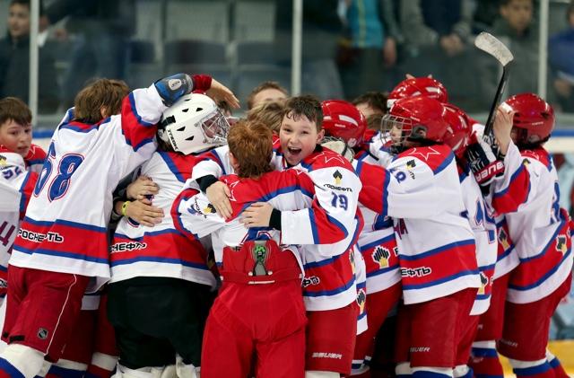 Eastern European Youth Hockey: Gazprom Neft Cup Glory For CSKA