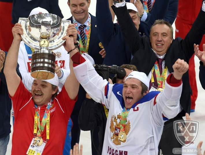 Russia Completed Its Perfect 10 To Sweep To The World Championship In Minsk