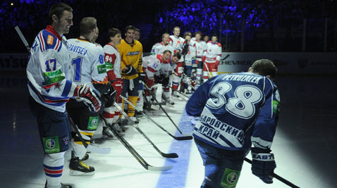 KHL: All-Star Game Rosters Complete