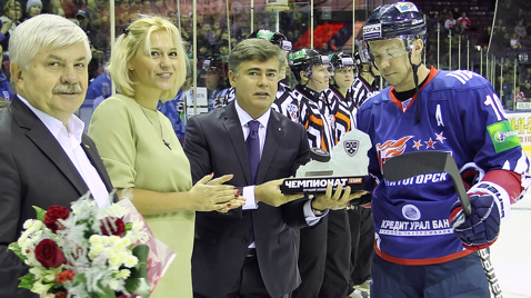 KHL: Sergei Mozyakin – Player Of The Month