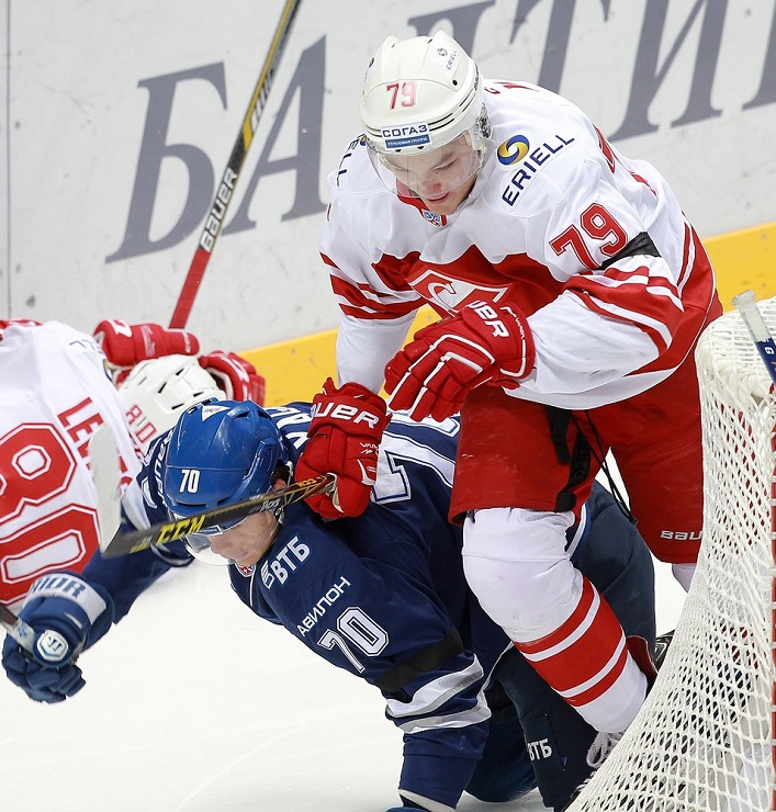 KHL: New Face Settles Clash Between Old Foes.