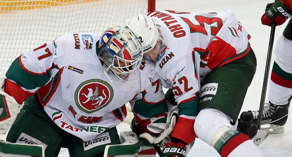KHL: Ak Bars Edges Tatarstan Derby. December 13, 2016 Round-up