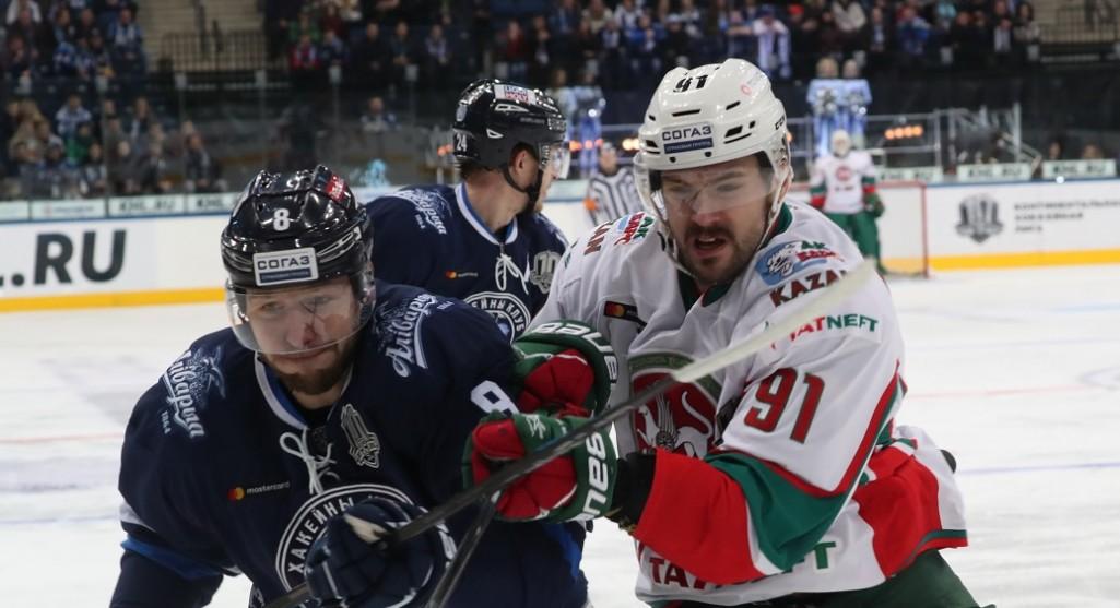 KHL: Ak Bars Blows Its Chance. November 13, 2017 Round-up