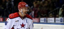 KHL: Denisov Leads CSKA To Victory