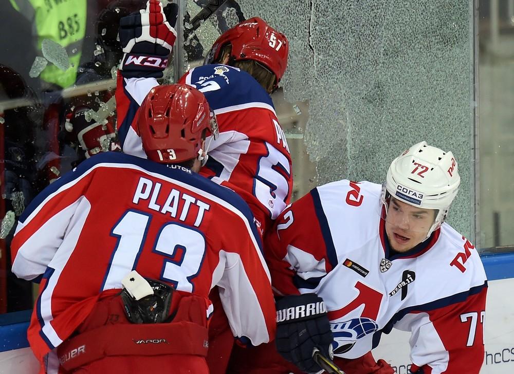KHL: SKA Sinks Dynamo, CSKA Stumbles Against Loko. Payoff, March 16, 2017