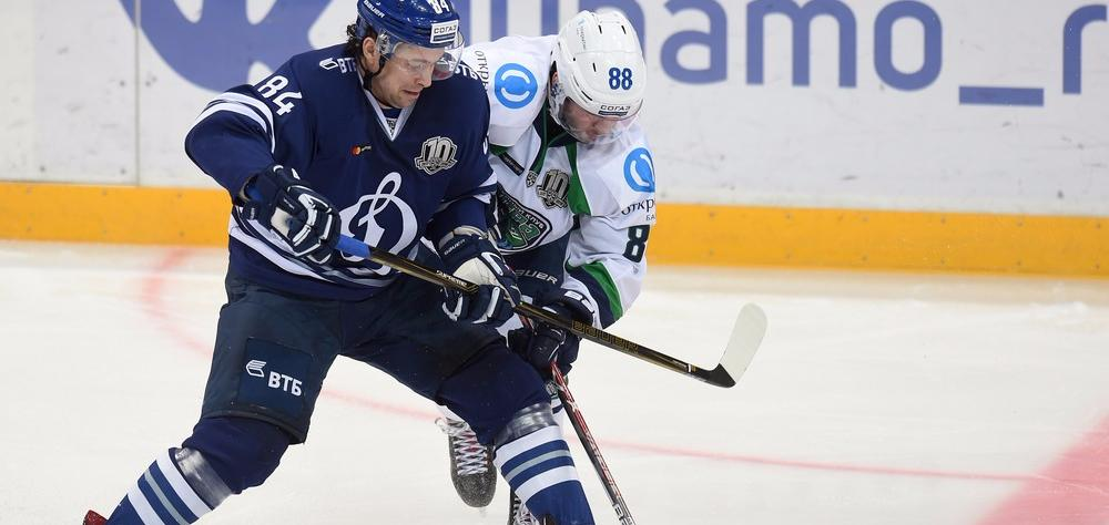 KHL: Power Play Pair Lifts Dynamo Into Top Eight. November 23, 2017 Round-up