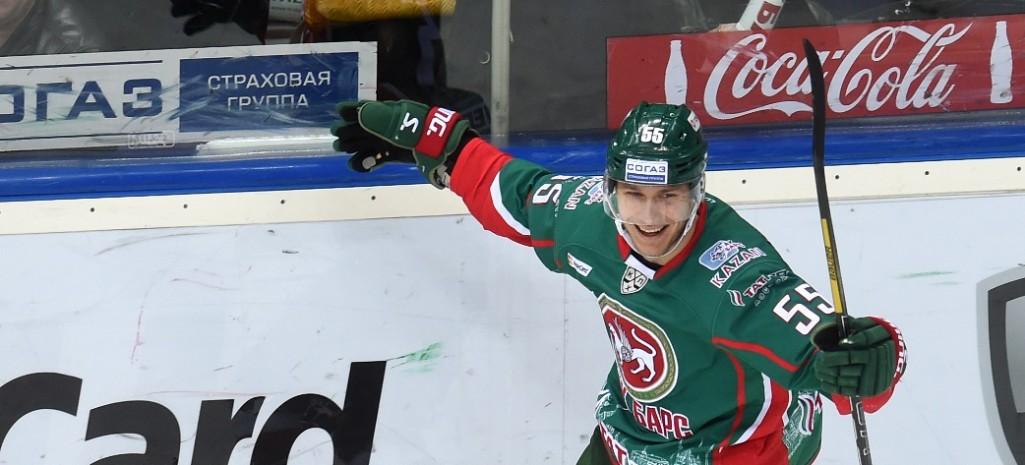 KHL: Players Of The Quarters - Koskinen, Alexandrov, Tkachyov And Okulov