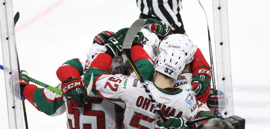 KHL: Ak Bars Blanks Admiral, Traktor Moves Into Playoff Spot. Oct 29, 2017 Round-up