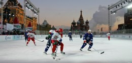 KHL: All-Star Game 2009. Yashin And Jagr Under The Kremlin Stars