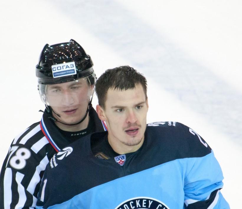 KHL: Menshikov Banned For 1 Game