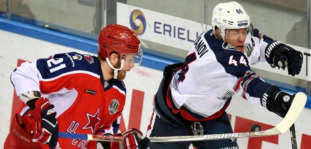 KHL: Battling CSKA Edges Neftekhimik, Westerlund Gets A Boost. November 19, 2017