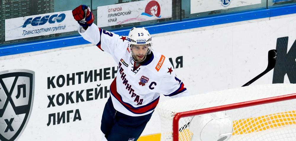 KHL: Datsyuk Sets SKA On Road To Victory. December 5, 2016 Round-up