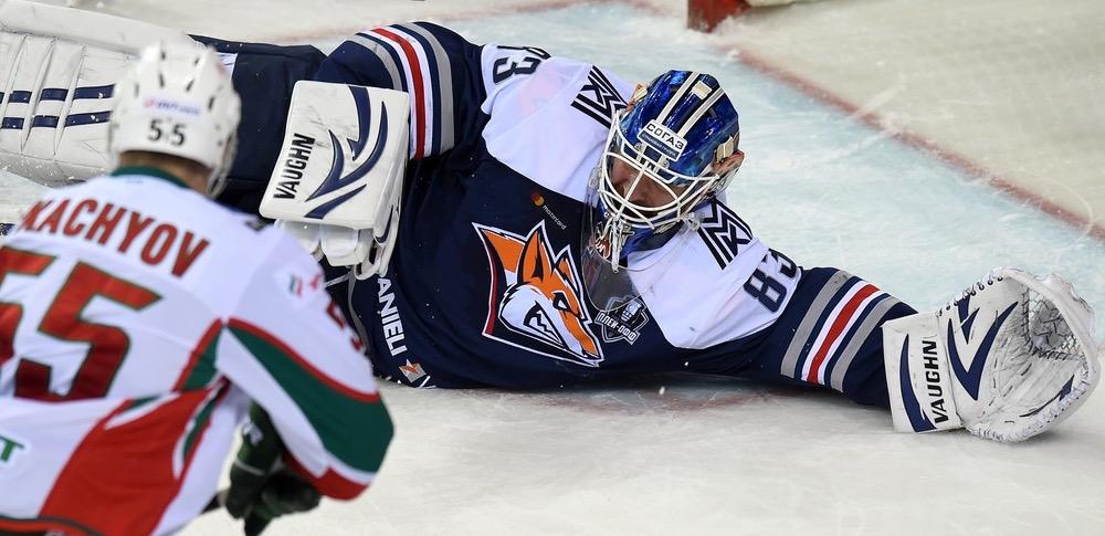 KHL: Sergei's Century Helps Metallurg Forge Ahead. Playoff, March 24, 2017
