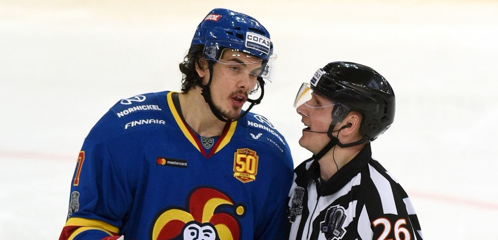 KHL: Oliver Lauridsen Banned For One Game