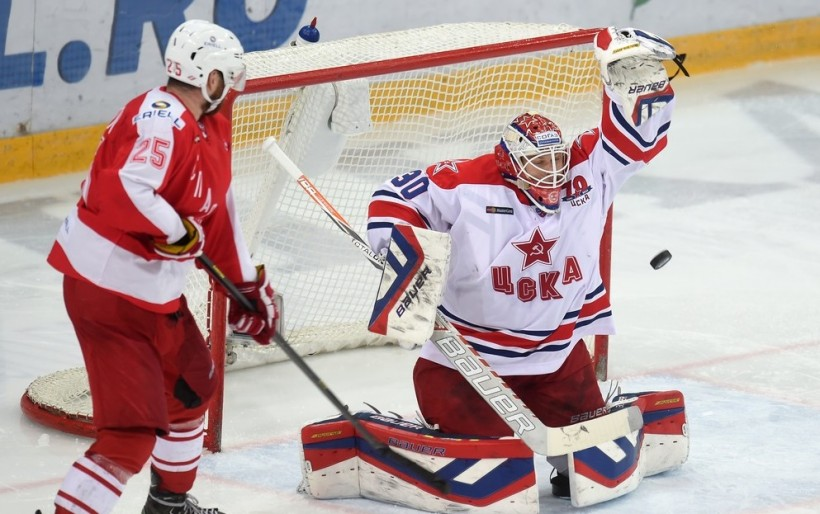 KHL: CSKA One Game From Retaining Title. January 31, 2016 Round-up