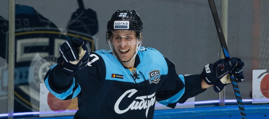 KHL: Bergstrom Keeps Up Scoring Streak. January 12, 2018 Round-up