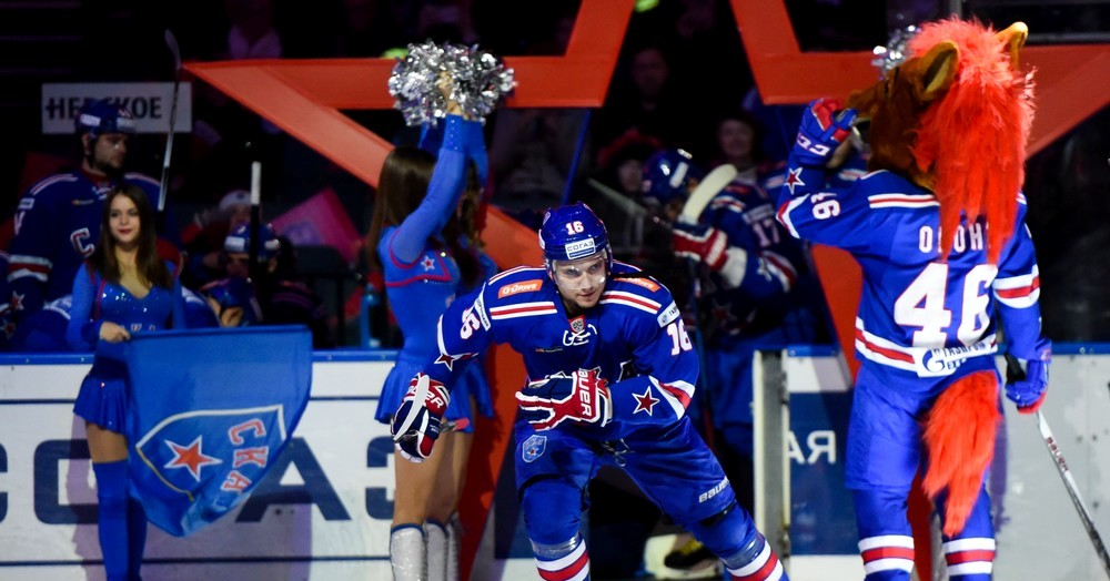 KHL: SKA Celebrates A Perfect 10. October 25, 2016 Round-up