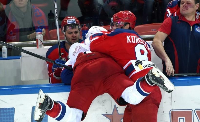 KHL: CSKA Halts Runaway Lokomotiv. January 6 Round-up