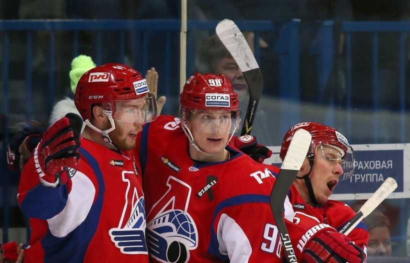KHL: Loko Celebrates New Year At The Top. December 29 Round-up