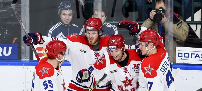 KHL: CSKA Makes It Eight Straight. CSKA Makes It Eight Straight. January 25 Round-up, 2016