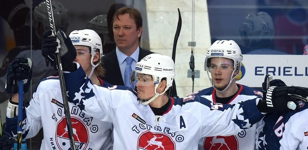 KHL: Torpedo Stuns CSKA In Opening Game