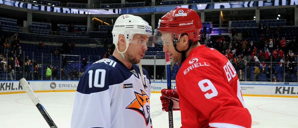 KHL: Another Record For Mozyakin. November 19, 2016 Round-up