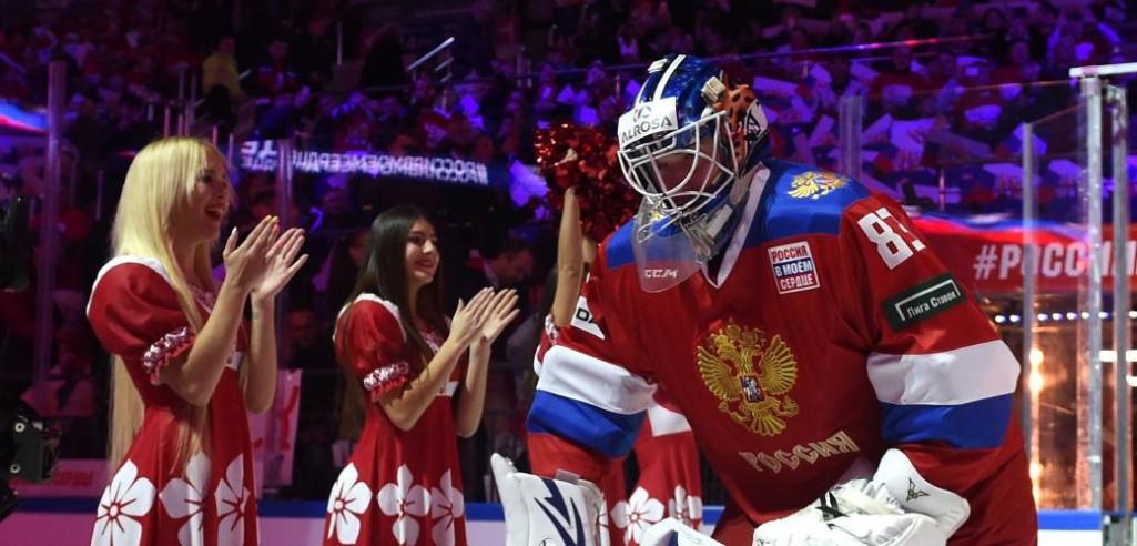 Koshechkin Stars As Russia Sink Canada