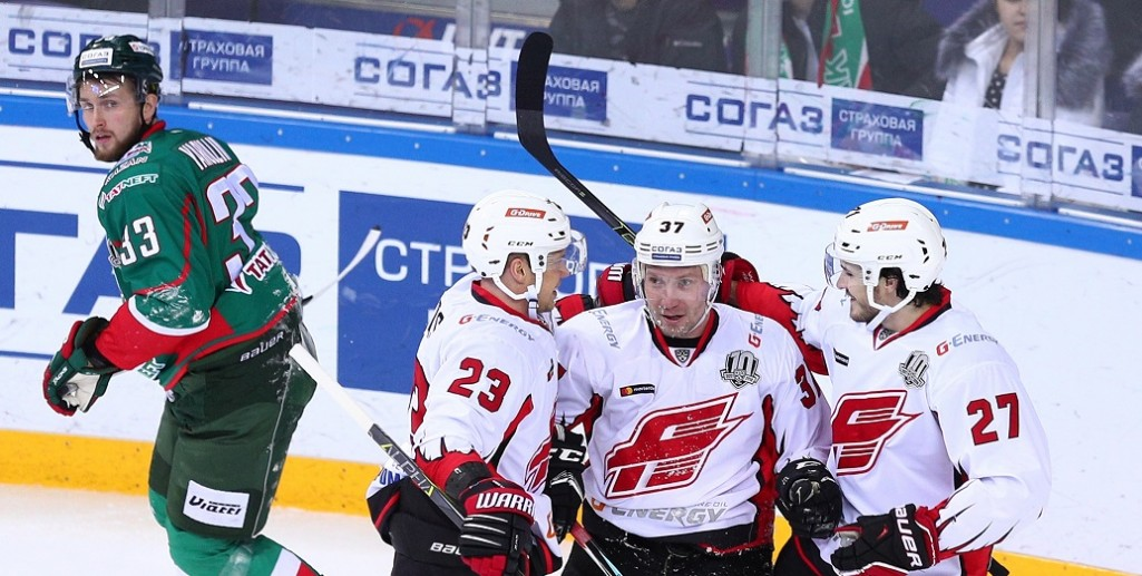 KHL: Tight At The Top. November 11, 2017 Round-up