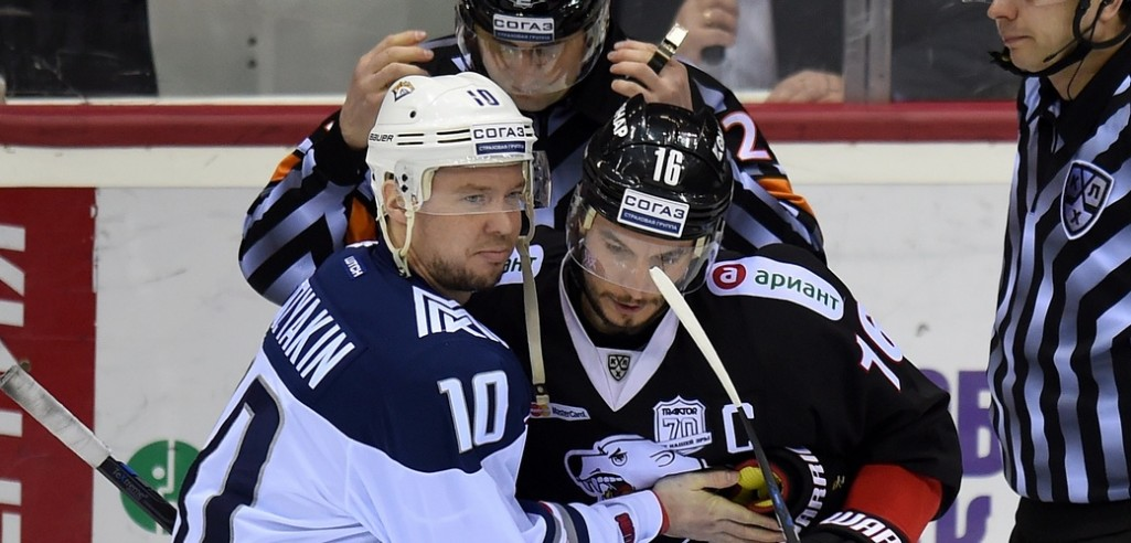 KHL: Mozyakin Must Wait For 1,000th Point