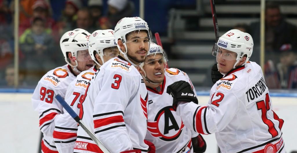 KHL: Avto Motors To Comfortable Win. December 15, 2016 Round-up
