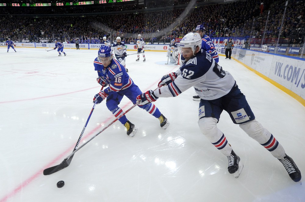 KHL: Dadonov Delight As SKA Wins In Double OT - Final Series, Game 3