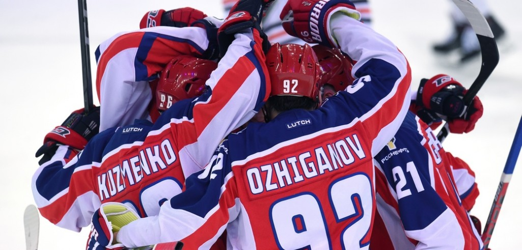 KHL: Seven Straight Wins For CSKA, Nine Losses For Red Star. December 1, 2017 Round-up
