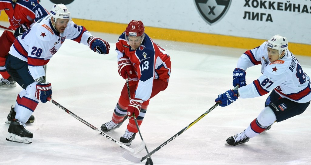 KHL: SKA Wins Army Derby, Returns To Top Spot. January 9, 2017 Round-up