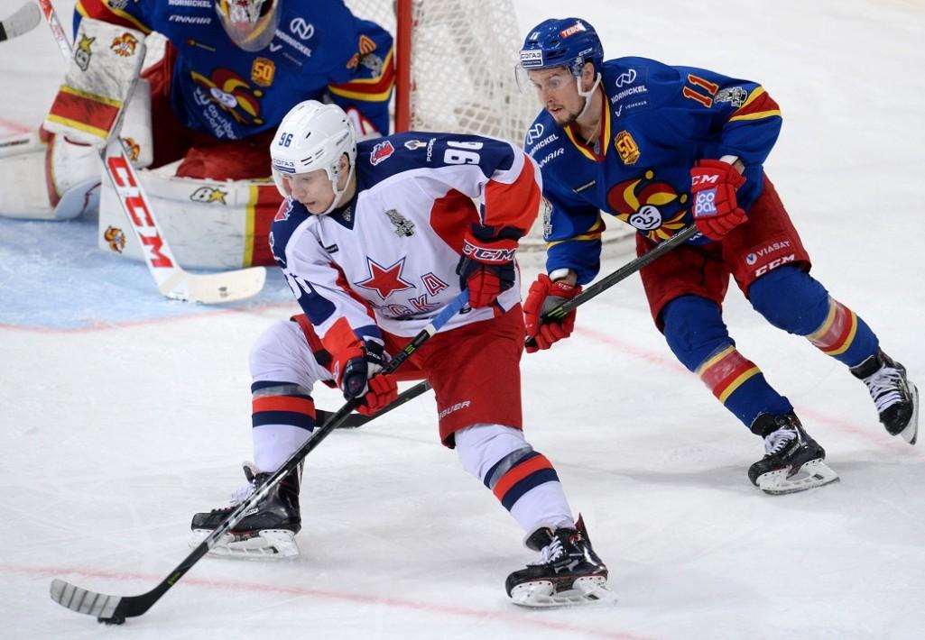 KHL: CSKA Joins SKA In Western Final. Playoffs