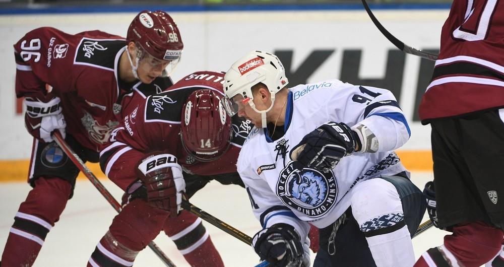 KHL: Thriller In Riga As Indrasis Downs Dinamo Minsk. November 1, 2016 Round-up