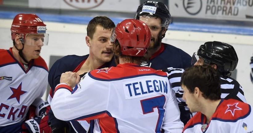 KHL: CSKA Eases Past Slovan