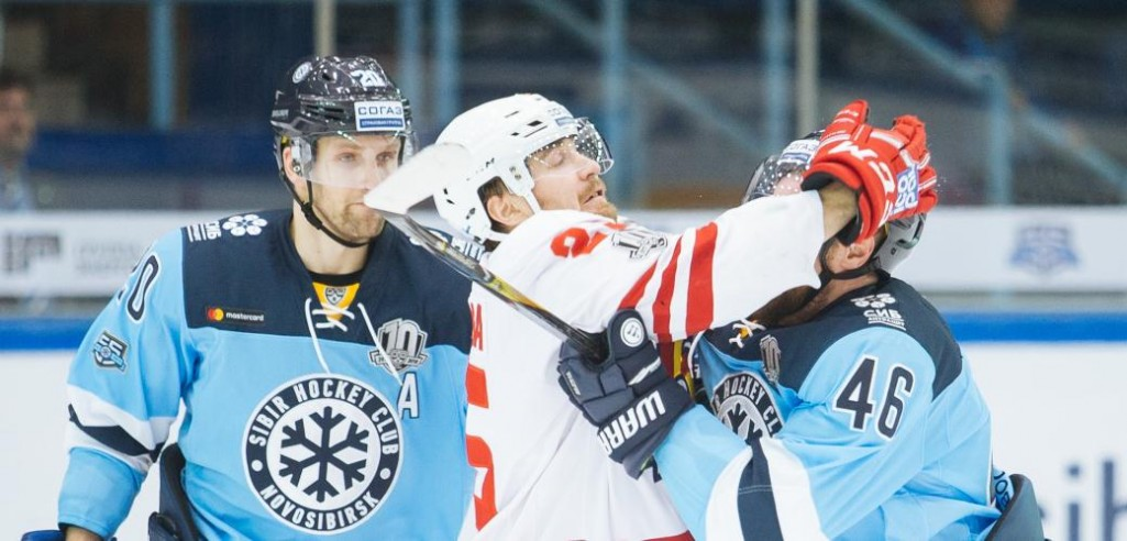 KHL: Dawes Dominates In Astana, Sibir Celebrates At Home. November 1, 2017 Round-up