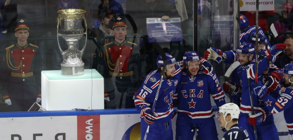 "KHL: ""No-one Made Fun Of Zubarev"" SKA Players On Game 3"