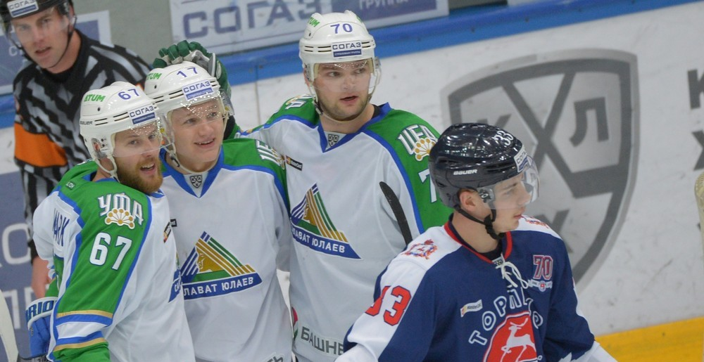 KHL: Six In A Row For Salavat Yulaev. November 14, 2016 Round-up