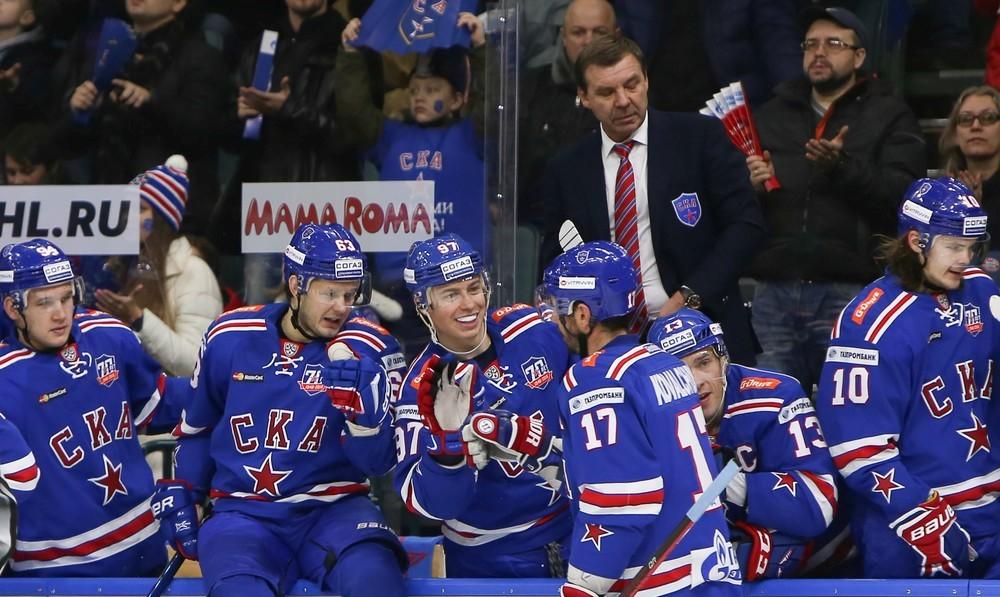 KHL: 15 Wins For SKA, 250 Points For Kovy. November 15, 2016 Round-up