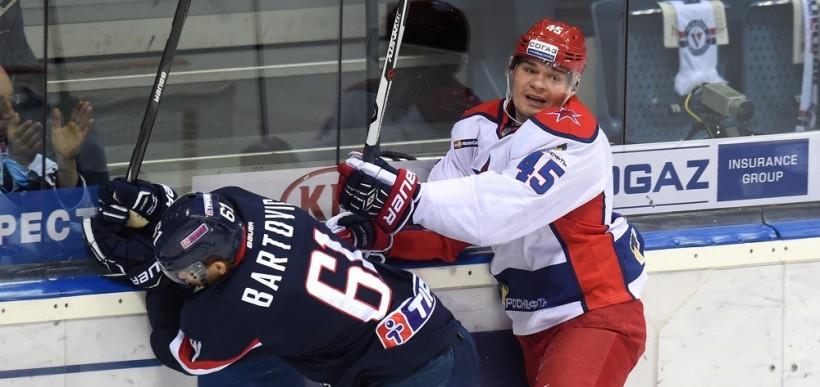 KHL: CSKA Leaves It Late Again