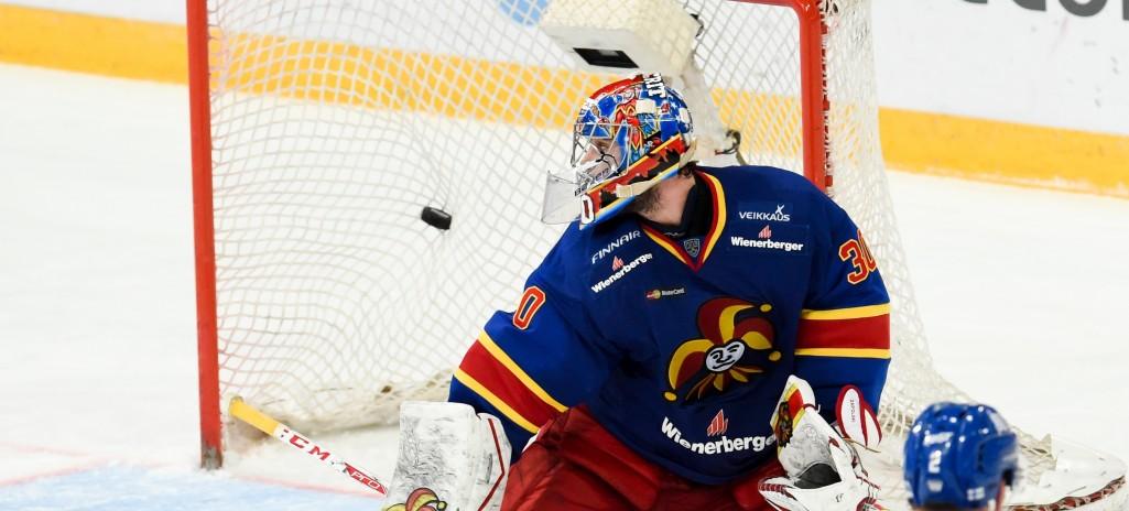 KHL: Zapolski Extends Jokerit's Winning Run. December 4, 2016 Round-up