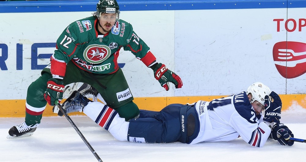 KHL: Mozyakin's Birthday Bonus. Playoff, March 30, 2017