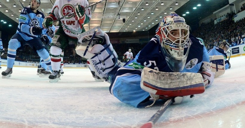 KHL: Top 10 Saves For October (video)