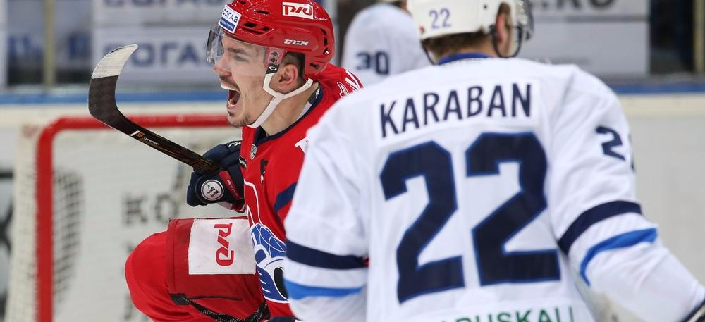 KHL: Dynamo, Lokomotiv Complete Western Conference SF Line-up. Playoff Day 9