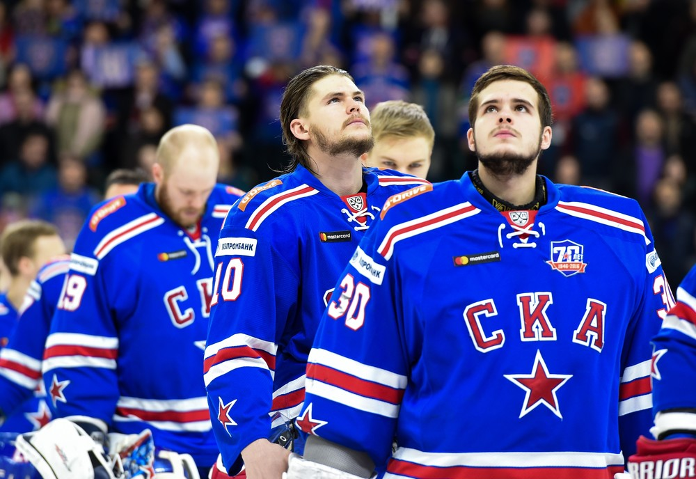 KHL: SKA - Goals From All Lines On A Stellar Roster