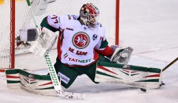 KHL: Zaripov Scores Again, Koshechkin Blanks Ak Bars. Playoff, March 26, 2017