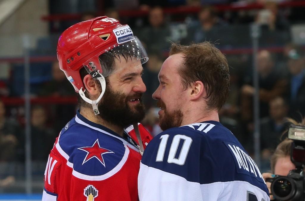 KHL: Mozyakin's Magic Dominates The Playoffs
