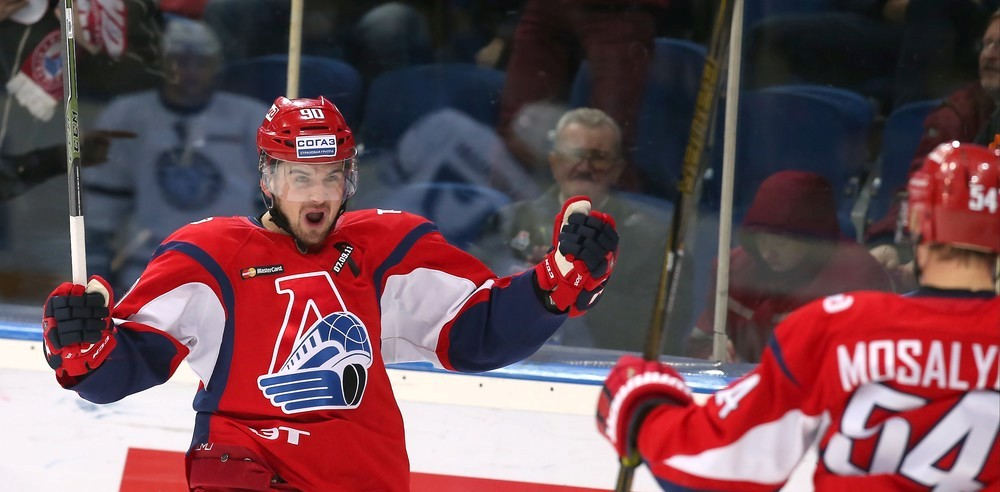 KHL: Offensive Power Pushes Loko Past Jokerit. October 29, 2016 Round-up