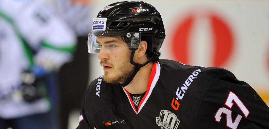 KHL: Chad Rau To Omsk; Everberg To Nizhnekamsk. December 9-11, 2017 Transfer Highlights